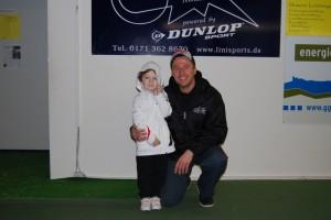 Mein Trainer Thommy und ich